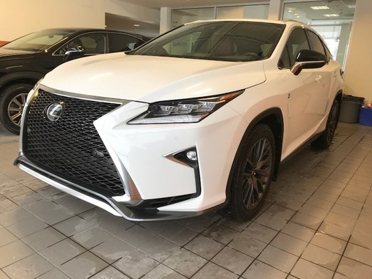 used 2017 lexus rx 350 f sport serie 2 navigation for sale in montreal demo 17l133 spinelli lexus lachine 2017 lexus rx 350