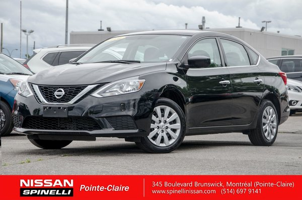 Used 2016 Nissan Sentra S For Sale In Montreal P7238 Spinelli Nissan
