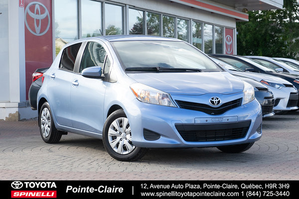 Used 2014 Toyota Yaris Reserve Ce Auto 5dr For Sale In Montreal P15475a Spinelli Toyota Pointe Claire