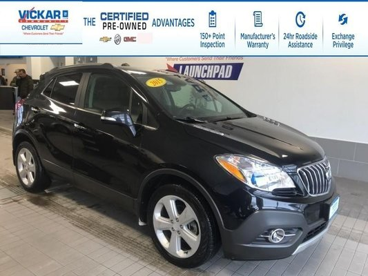 2015 Buick Encore FWD, LEATHER INTERIOR, BLUETOOTH, BACK UP CAMERA  - $128.16 B/W