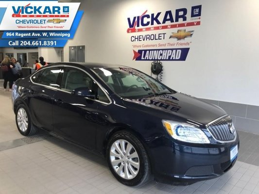 2015 Buick Verano AUTOMATIC, AIR CONDITIONING, BLUETOOTH  - $123.61 B/W