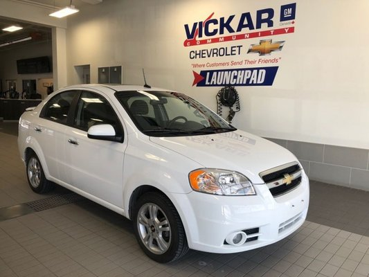 Used 2010 Chevrolet Aveo Lt 1 6l 4 Cylinder Automatic White