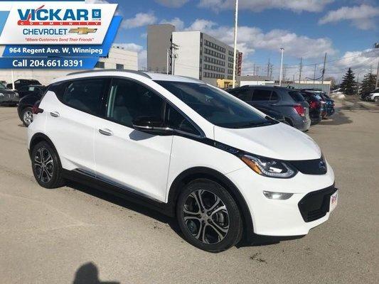 2019 Chevrolet Bolt EV Premier  - Leather Seats - $311.97 B/W