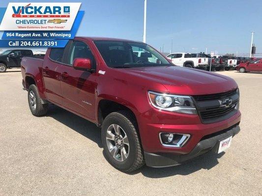 2019 Chevrolet Colorado Z71  - Z71 - $268 B/W