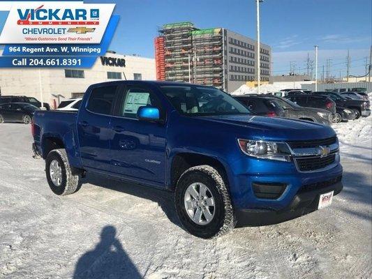 2019 Chevrolet Colorado WT  - OnStar - $236.61 B/W