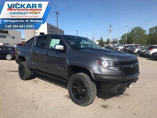 2019 Chevrolet Colorado ZR2  - $339.72 B/W