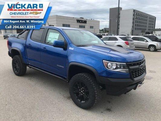 2019 Chevrolet Colorado ZR2  - $337.41 B/W