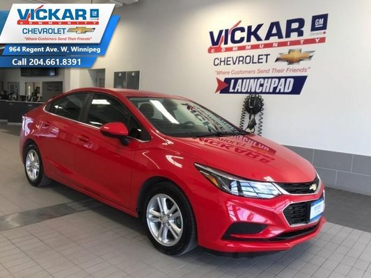2016 Chevrolet Cruze LT  BLUETOOTH, HEATED SEATS, REAR VIEW CAMERA  - $129.07 B/W