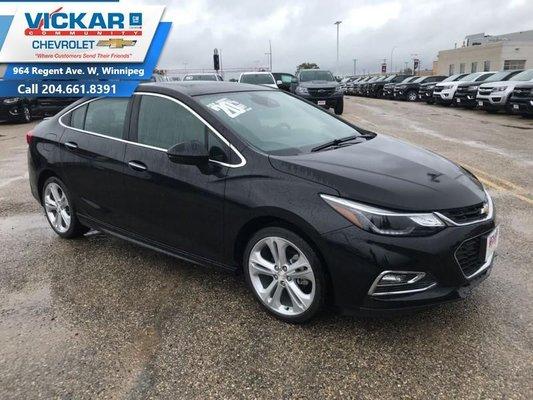 2018 Chevrolet Cruze Premier  - $206.76 B/W