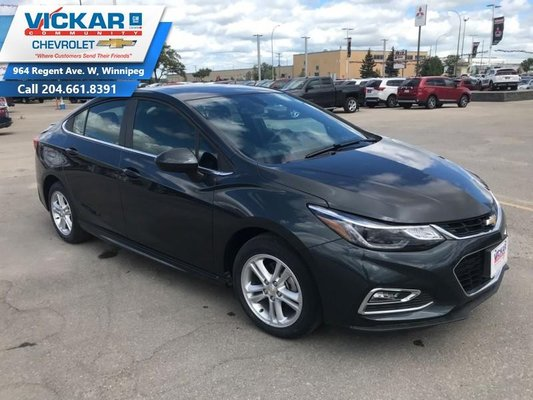 2018 Chevrolet Cruze LT  - $183.69 B/W