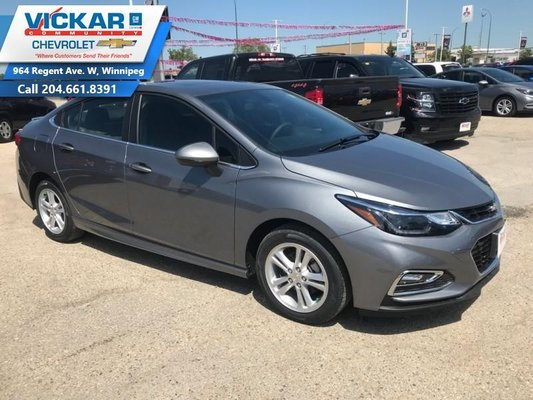 2018 Chevrolet Cruze LT  - $144.62 B/W