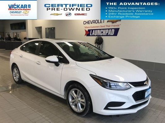 2018 Chevrolet Cruze LT BOSE AUDIO, SUNROOF, HEATED SEATS  - $126.44 B/W