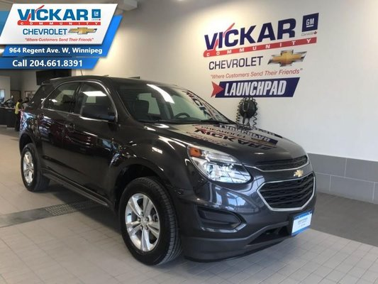 2016 Chevrolet Equinox LS   FWD, AUTOMATIC, AIR CONDITIONING  - $160 B/W