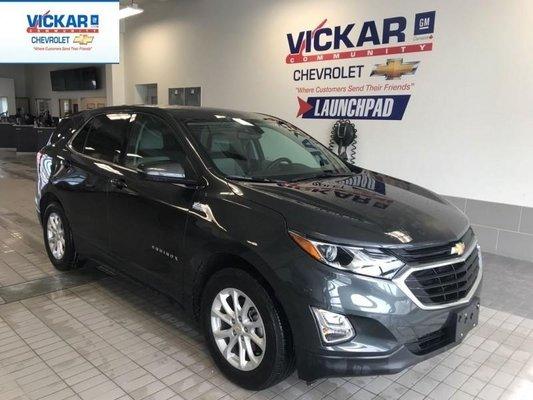 2018 Chevrolet Equinox LT   FWD, HEATED SEATS, REMOTE START  - $181.05 B/W