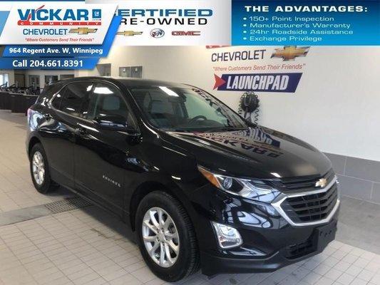2018 Chevrolet Equinox LT  FWD, HEATED SEATS, REMOTE START  - $177.61 B/W