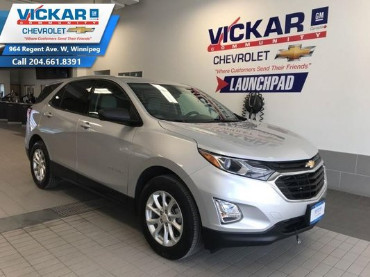 2018 Chevrolet Equinox LS   FWD, REAR VIEW CAMERA, REMOTE START, HEATED SEATS