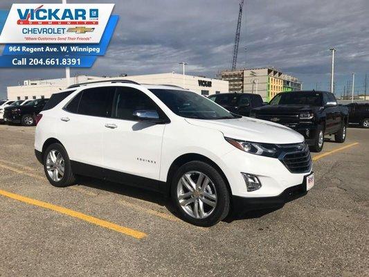 2019 Chevrolet Equinox Premier 1LZ  - $246 B/W