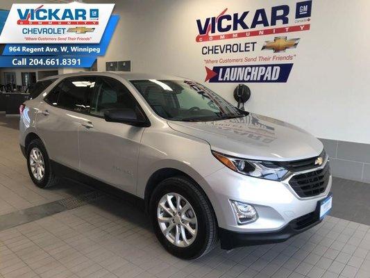 2019 Chevrolet Equinox LS  AWD, HEATED SEATS BACK UP CAMREA,