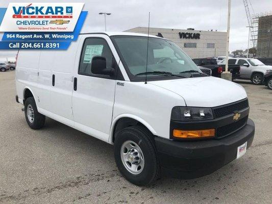 2018 Chevrolet Express Cargo Van WT  - $290.23 B/W