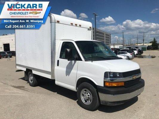 2018 Chevrolet Express Commercial Cutaway 1WT  - $250 B/W