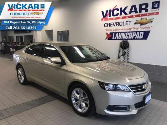 2014 Chevrolet Impala 2LT  V6, FWD, AUTOMATIC, TOUCH SCREEN  - $136.77 B/W