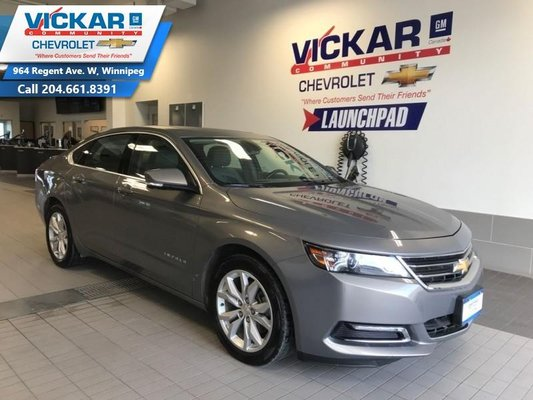 2018 Chevrolet Impala LT  SUNROOF, REAR VIEW CAMERA, HEATED SEATS  - $165 B/W