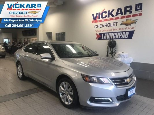2018 Chevrolet Impala LT  V6,  SUNROOF,  HEATED SEATS  - $172 B/W