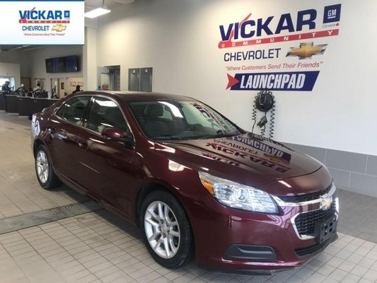 2015 Chevrolet Malibu 4 CYL. AUTOMATIC, BLUETOOTH  - $119.76 B/W