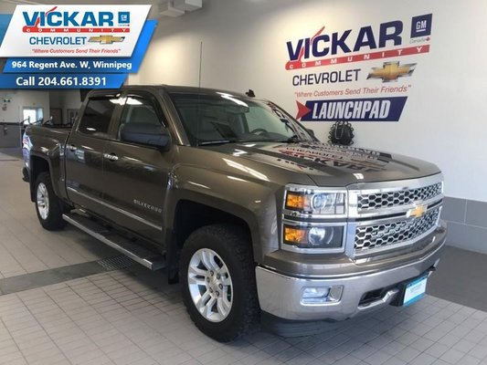 2014 Chevrolet Silverado 1500 LTZ   CREW CAB, 5.3L V8, 4X4, LEATHER INTERIOR  - $275 B/W