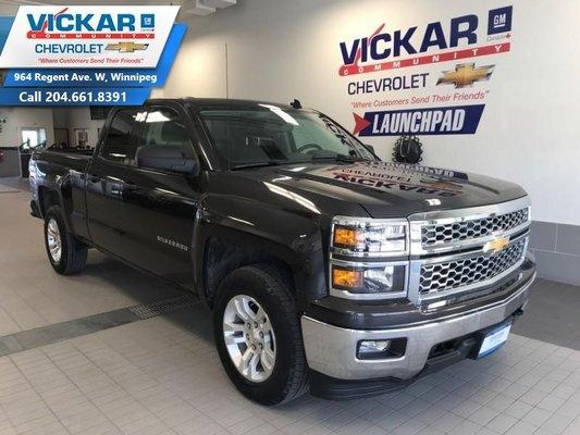 2014 Chevrolet Silverado 1500 LT  5.3L V8, DOUBLE CAB, 4X4  - $236.77 B/W