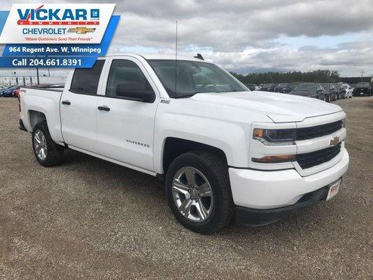 2018 Chevrolet Silverado 1500 Custom  - $274.65 B/W