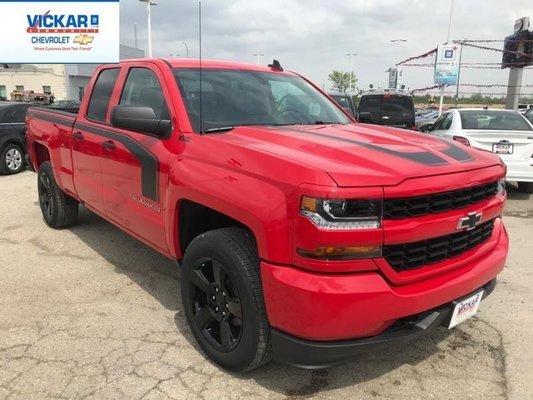 2018 Chevrolet Silverado 1500 Custom  - $260.63 B/W
