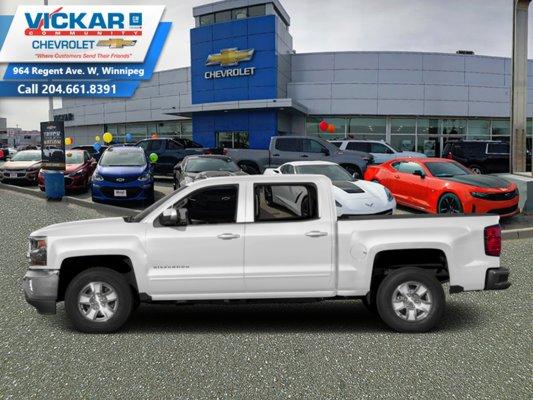 2018 Chevrolet Silverado 1500 LT  - SiriusXM Radio - $305.15 B/W