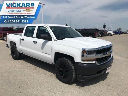 2018 Chevrolet Silverado 1500 Work Truck  - $279.02 B/W