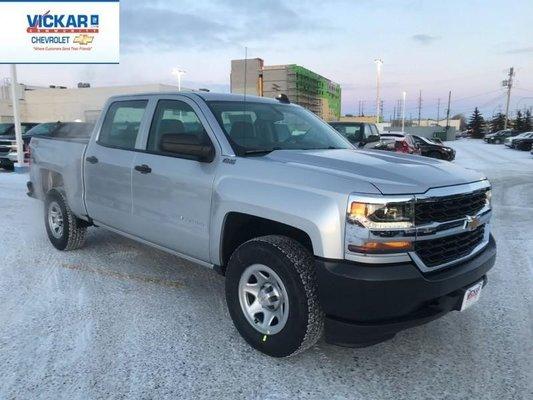 2018 Chevrolet Silverado 1500 Work Truck  - $278.18 B/W