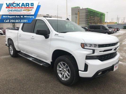 New 2019 Chevrolet Silverado 1500 Rst Summit White For Sale