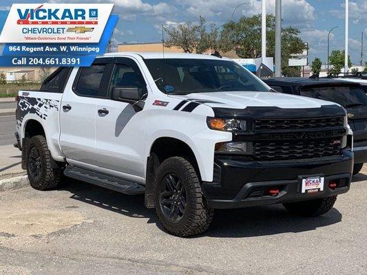 2019 Chevrolet Silverado 1500 Custom Trail Boss  - $288.16 B/W