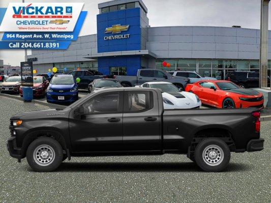 2019 Chevrolet Silverado 1500 Work Truck  - $230.86 B/W