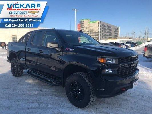 2019 Chevrolet Silverado 1500 Custom Trail Boss  - $286.11 B/W