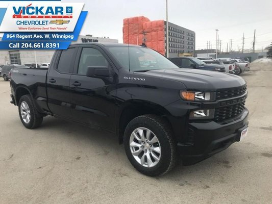 2019 Chevrolet Silverado 1500 Custom  - $265.62 B/W