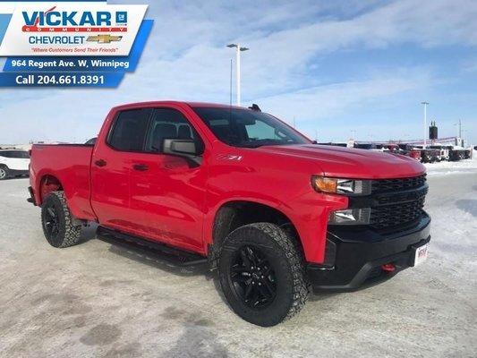 2019 Chevrolet Silverado 1500 Custom Trail Boss  - $275.93 B/W