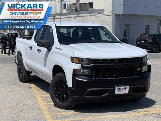 2019 Chevrolet Silverado 1500 Work Truck  -  Bluetooth - $180.88 B/W