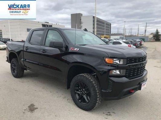 2019 Chevrolet Silverado 1500 Custom Trail Boss  - $286.54 B/W