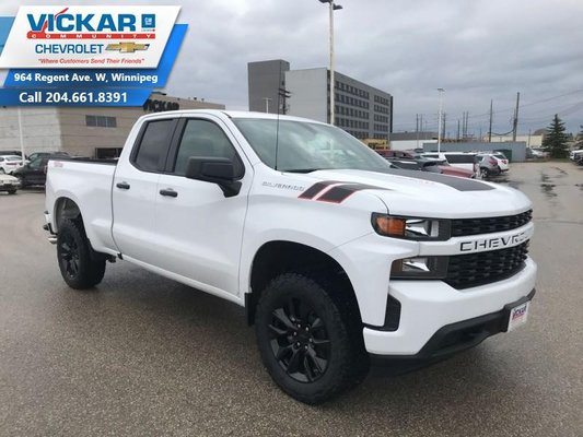 2019 Chevrolet Silverado 1500 Custom  - Apple CarPlay - $242.91 B/W