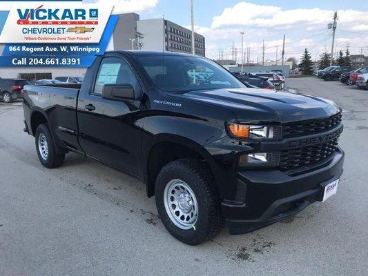 2019 Chevrolet Silverado 1500 Work Truck  - $250.36 B/W