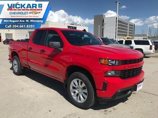 2019 Chevrolet Silverado 1500 Custom  - $254.70 B/W