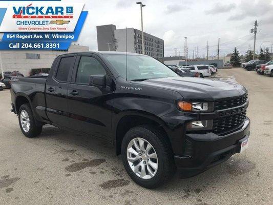 2019 Chevrolet Silverado 1500 Custom  - $243.98 B/W