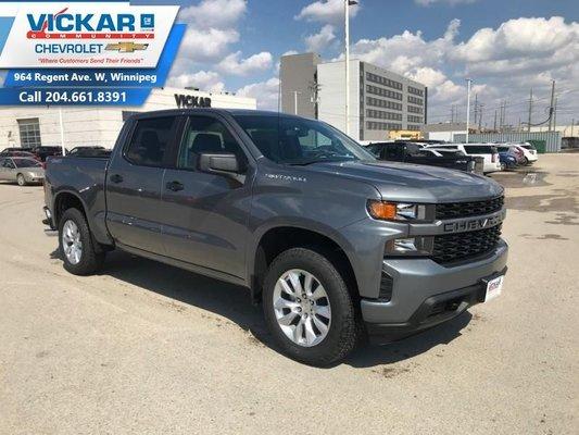 2019 Chevrolet Silverado 1500 Custom  - $266.45 B/W