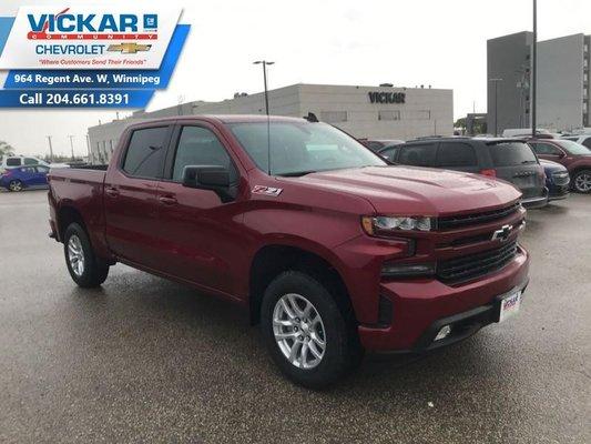 2019 Chevrolet Silverado 1500 RST  - $317.01 B/W