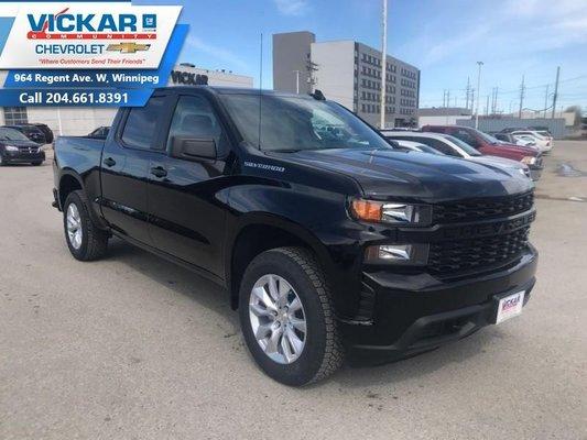 2019 Chevrolet Silverado 1500 Custom  - $279.77 B/W